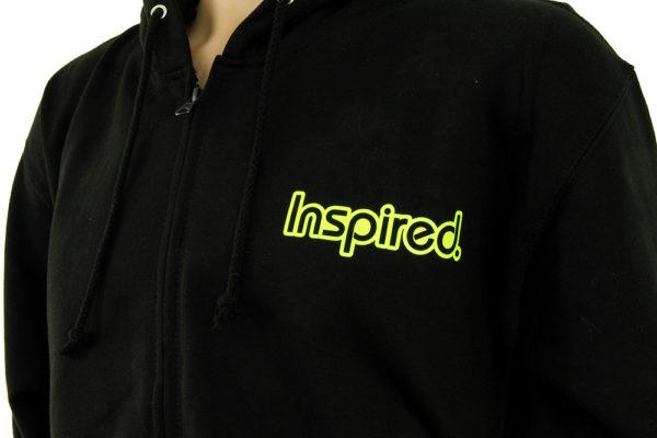 Sweat à Capuche Inspired Vertical Zip-up